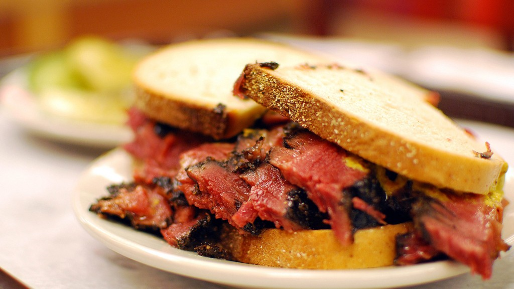 center sandwich jewish singles Deli the 5 best jewish delis in new york city  conveniently located at rockefeller center and grand central  anthony bourdain's favorite jewish deli honors.