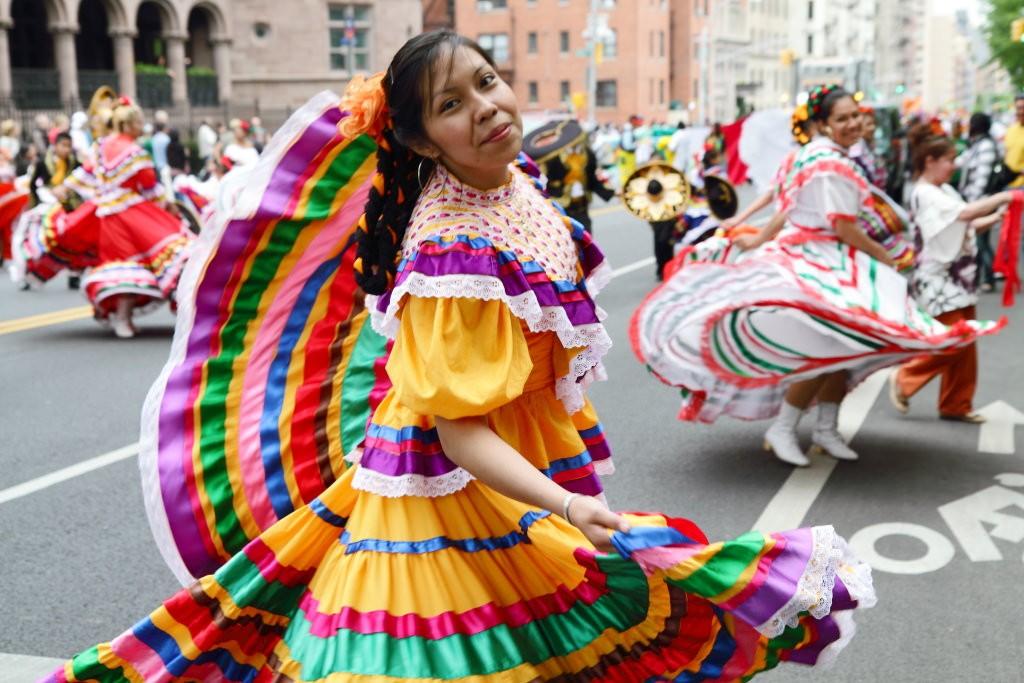 Cinco de Mayo Parade 2012, NY Foto de Paul Stein