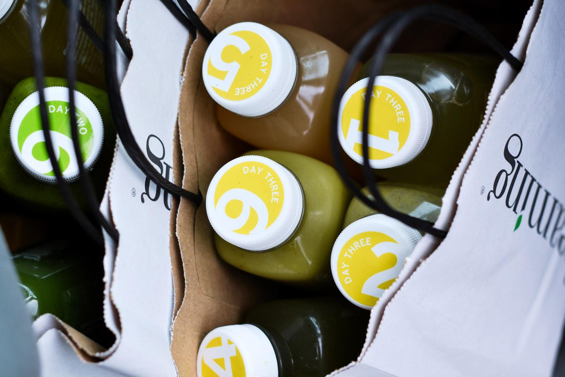 A bag full of bottled goodness from Beaming