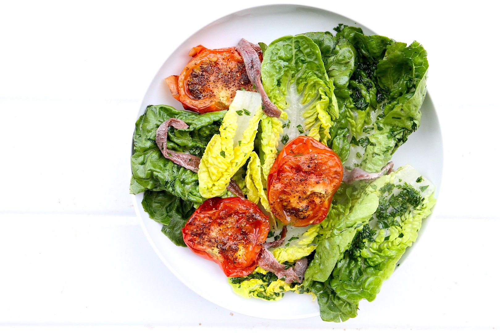 Anchovy-tomato-little-gem-salad-1
