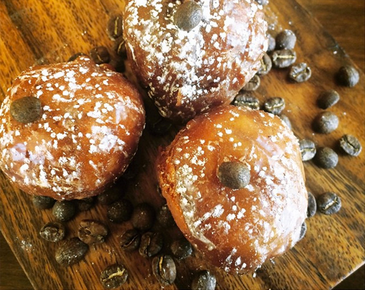 Brioche Donuts made with Stumptown coffee