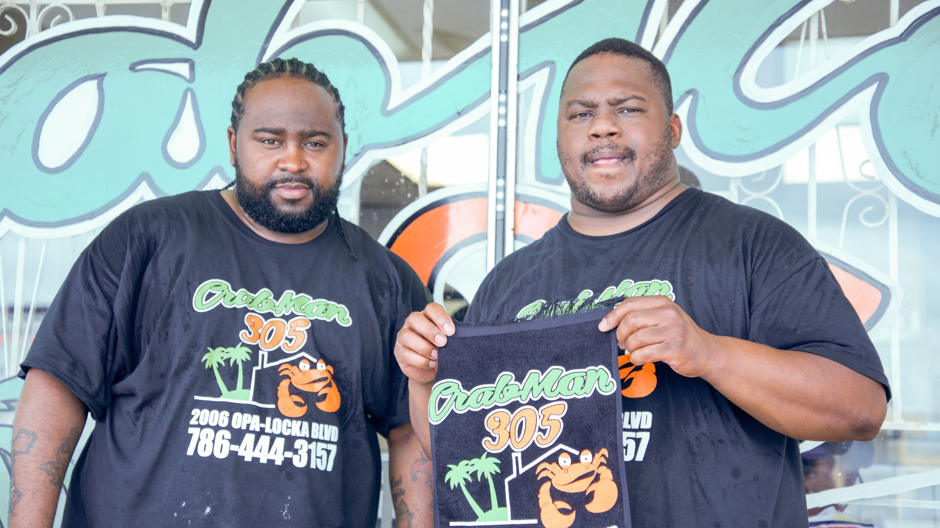 Crabman 305 Darren and Johnny store front