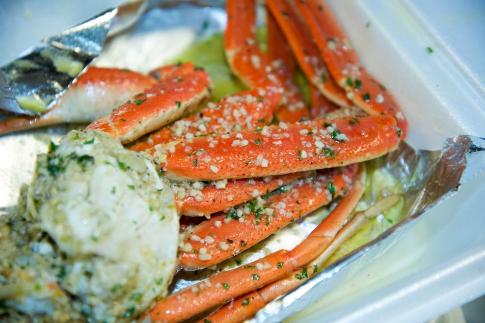Crabman crab legs