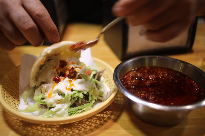 Den første Shawarma 07