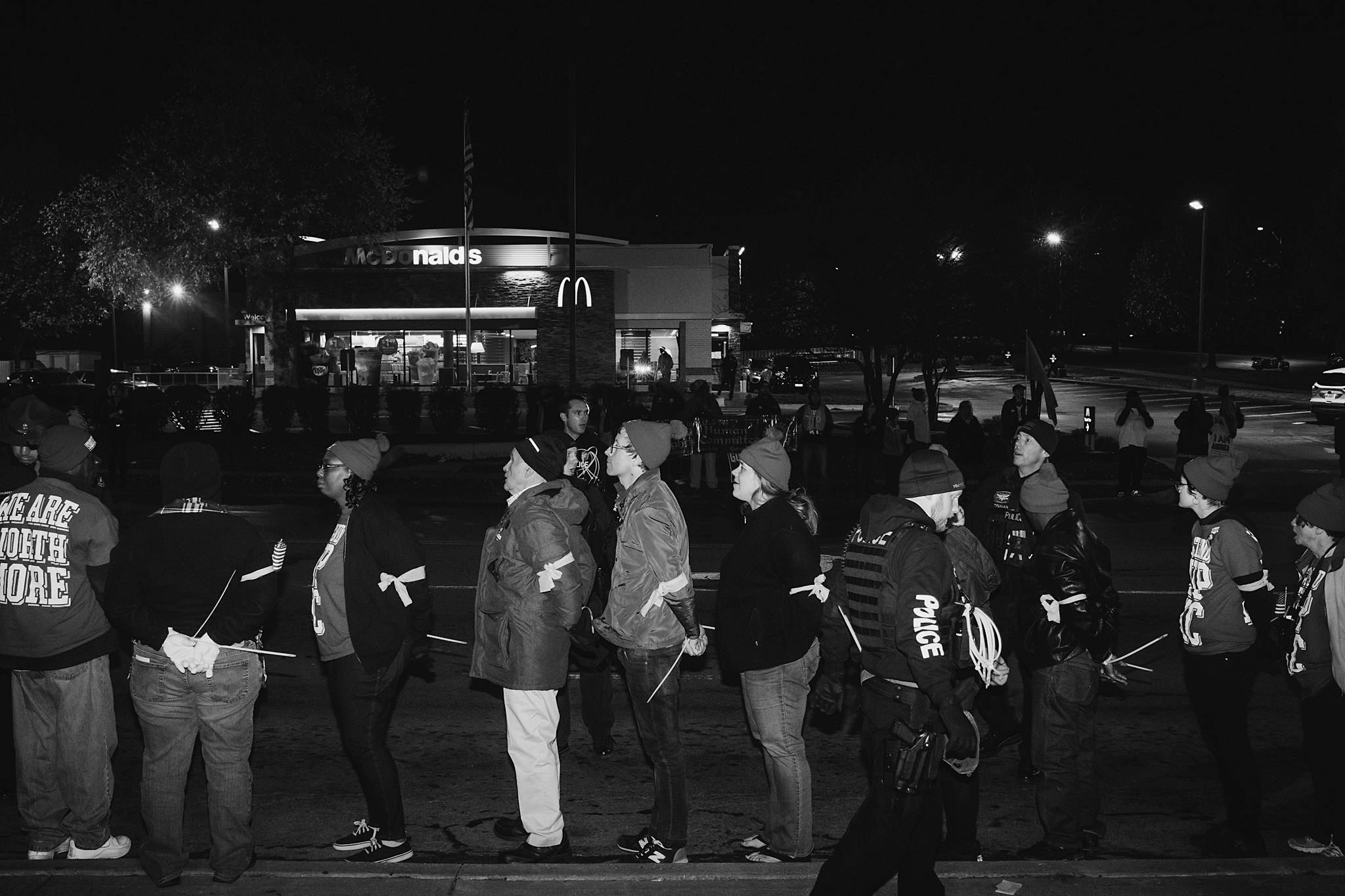 Stand Up KC Protest | Copyright Chase Castor
