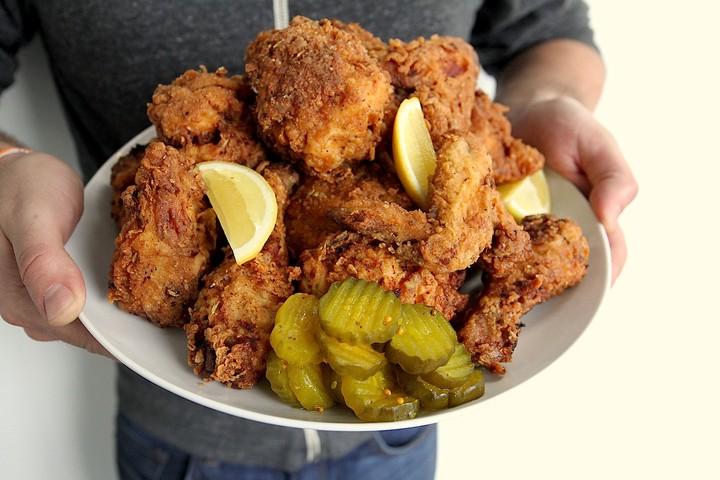 Super-Crispy Fried Chicken