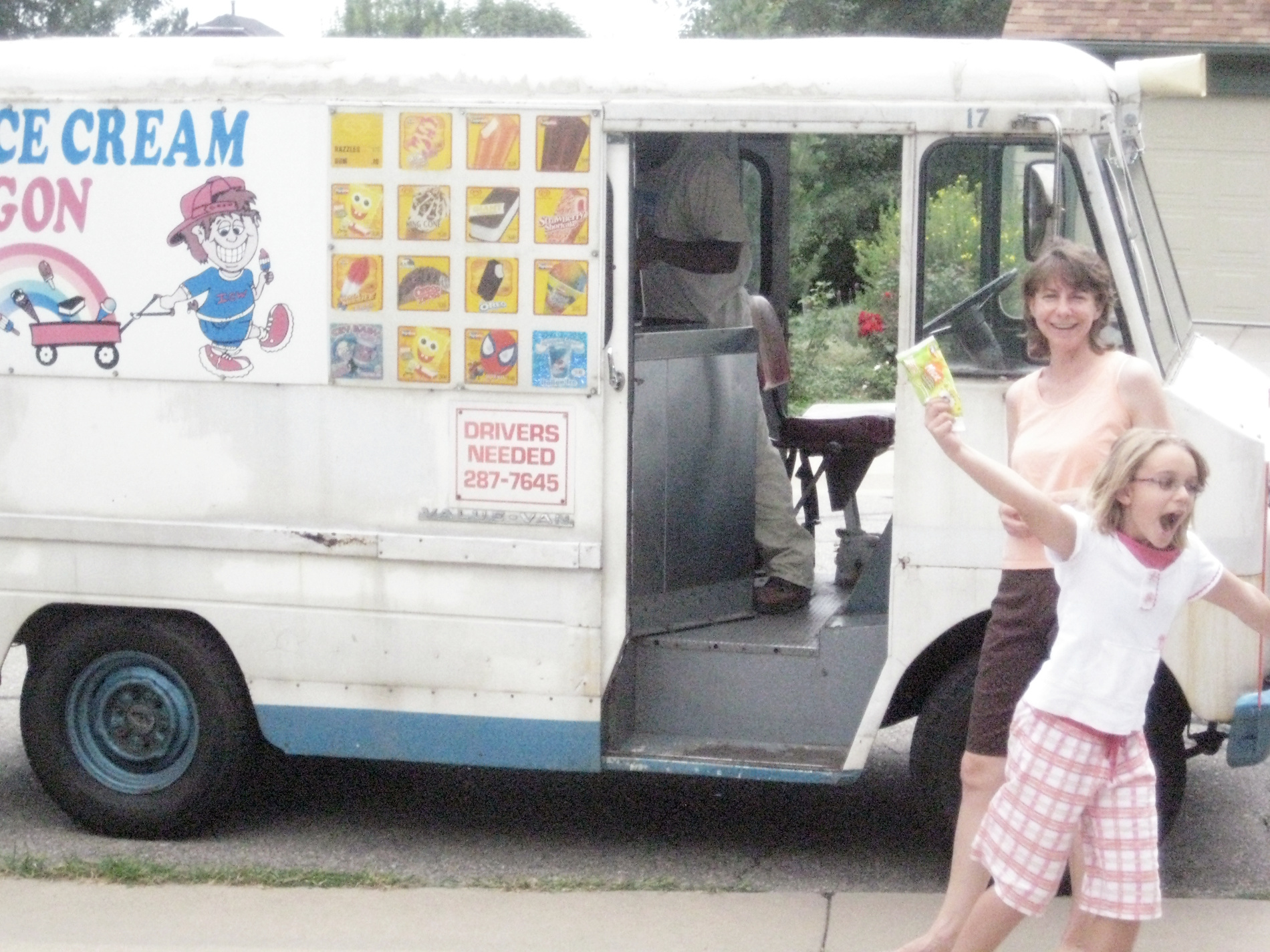 ice cream truck driver in friday