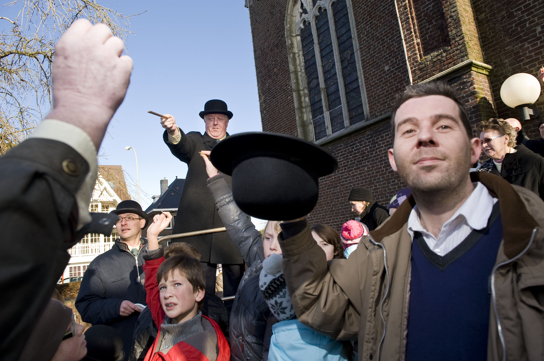 Ingooigem, Belgium, January 17, 2010 Sint-Antoniusviering in Ingooigem, deelgemeente van Anzegem. ©Nick Hannes
