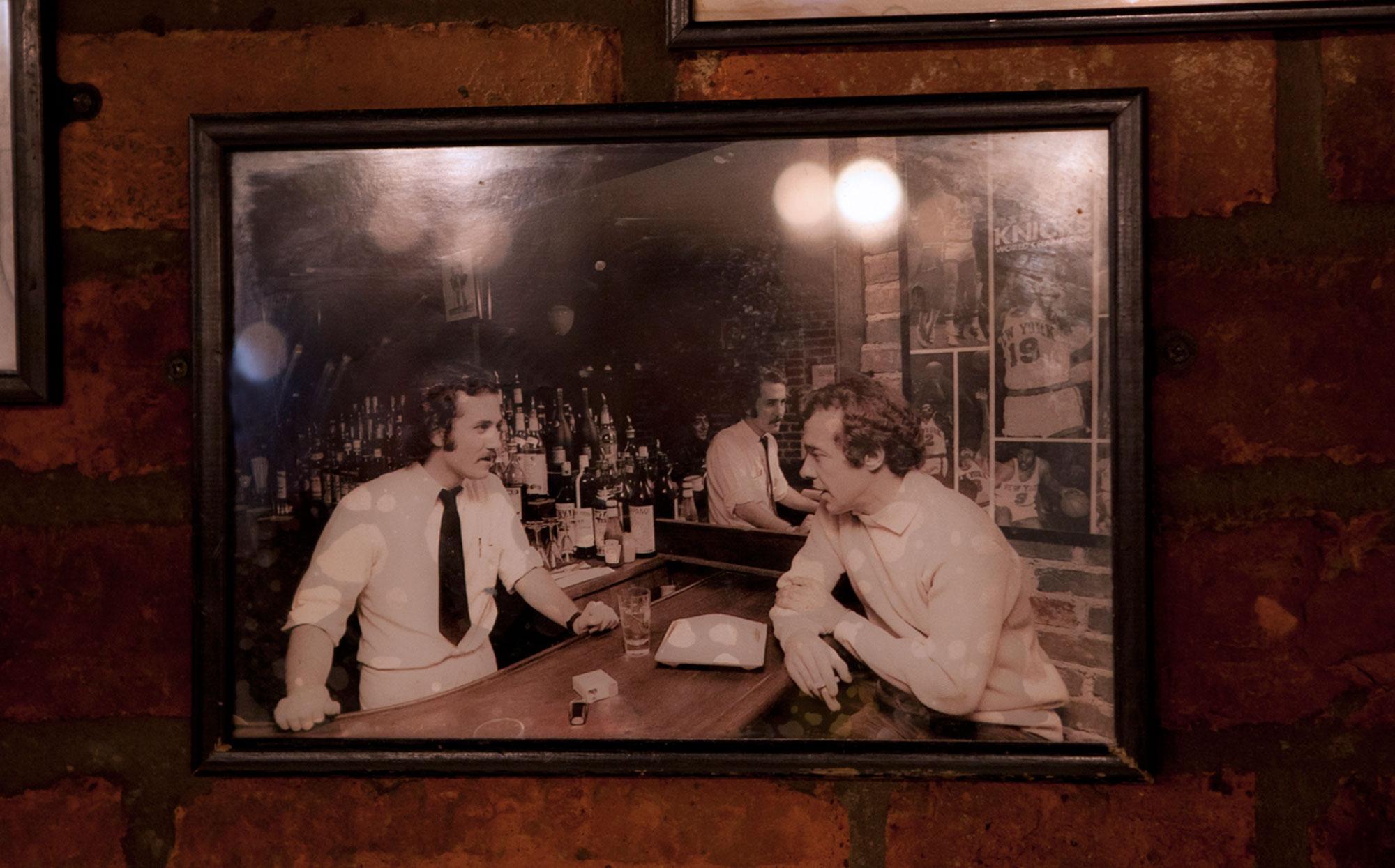 Joe-Allen-Old-framed-Pic
