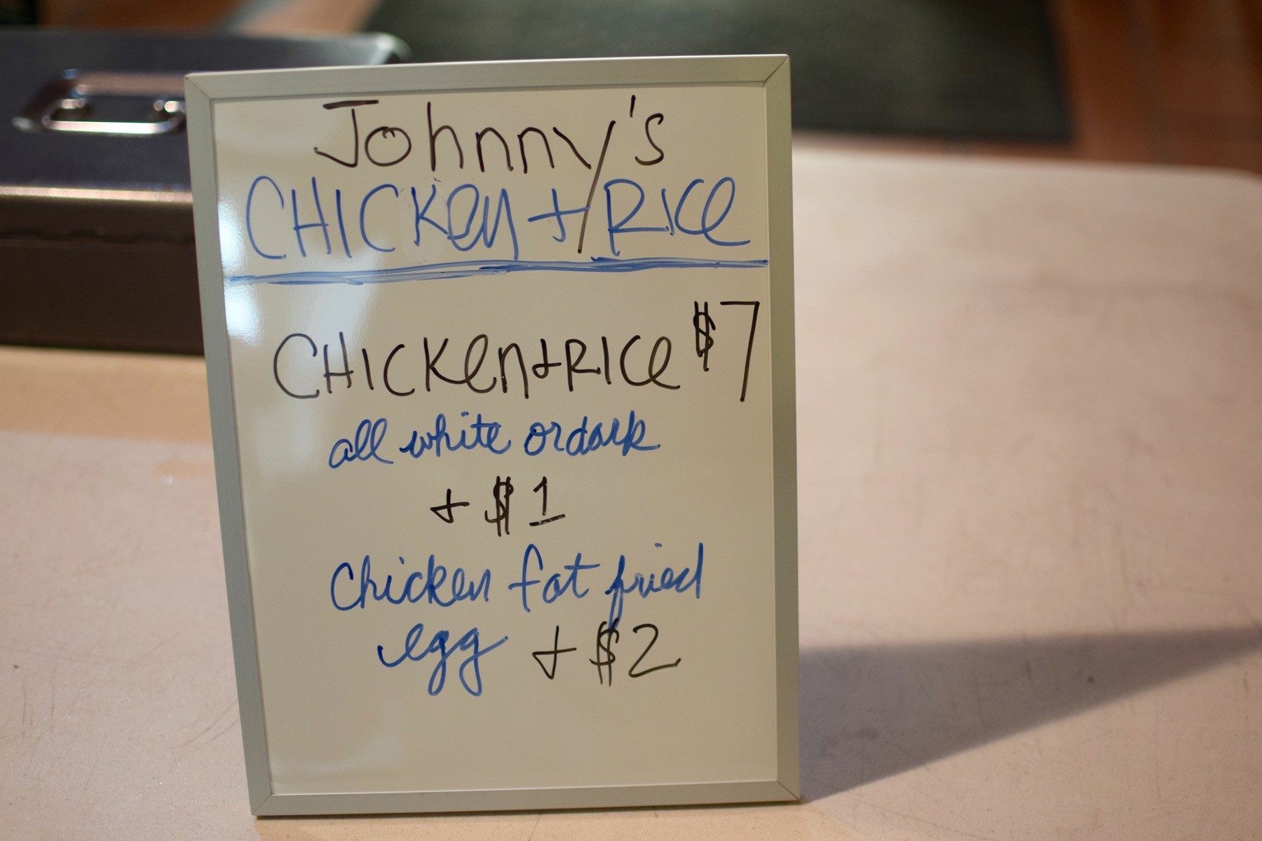 Johnny's_chicken_and_rice_sign - 1