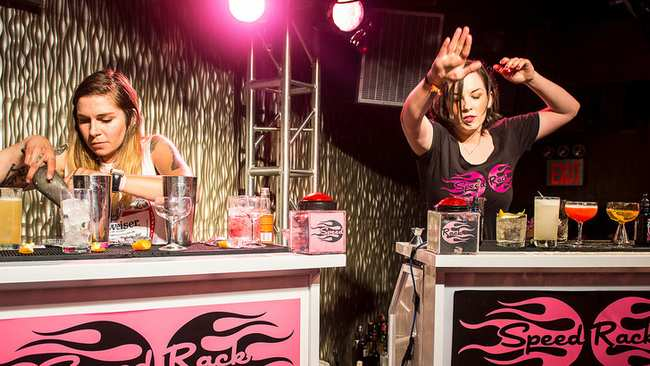 524777b6 Speed Rack Bartenders Are in a League of Their Own - VICE