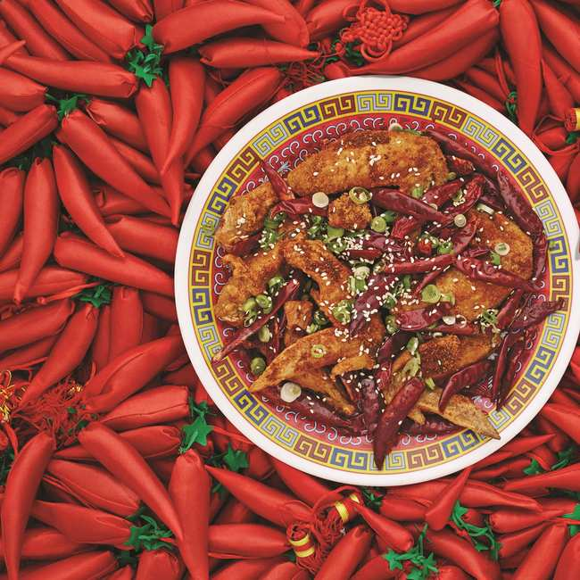 The secret to making mission chinese foods famous spicy chicken image courtesy of the mission chinese food cookbook forumfinder Choice Image