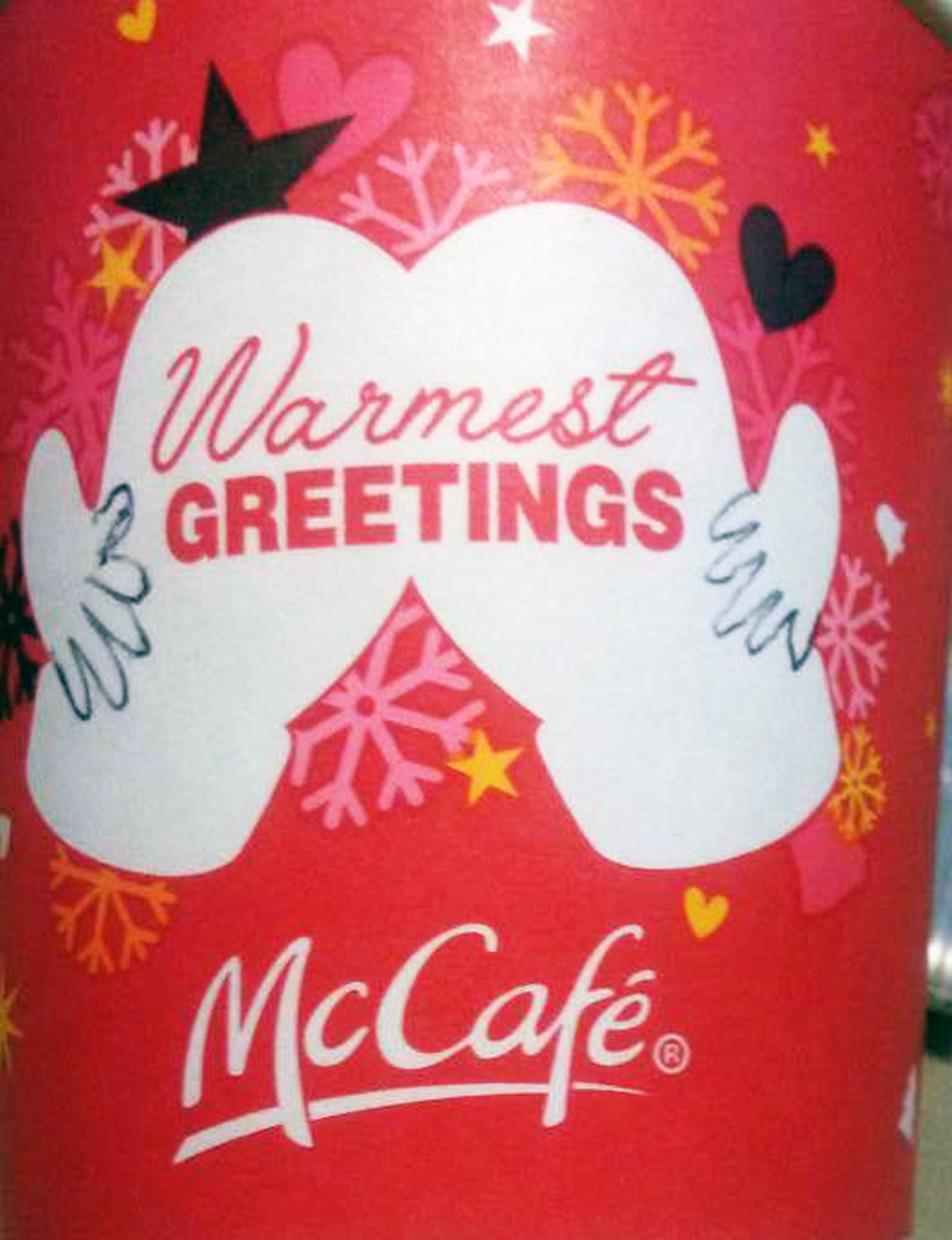McDonald\'s Didn\'t Notice How NSFW Its New Holiday Cup Can Be, But ...