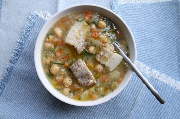 Chickpea and Pork Soup