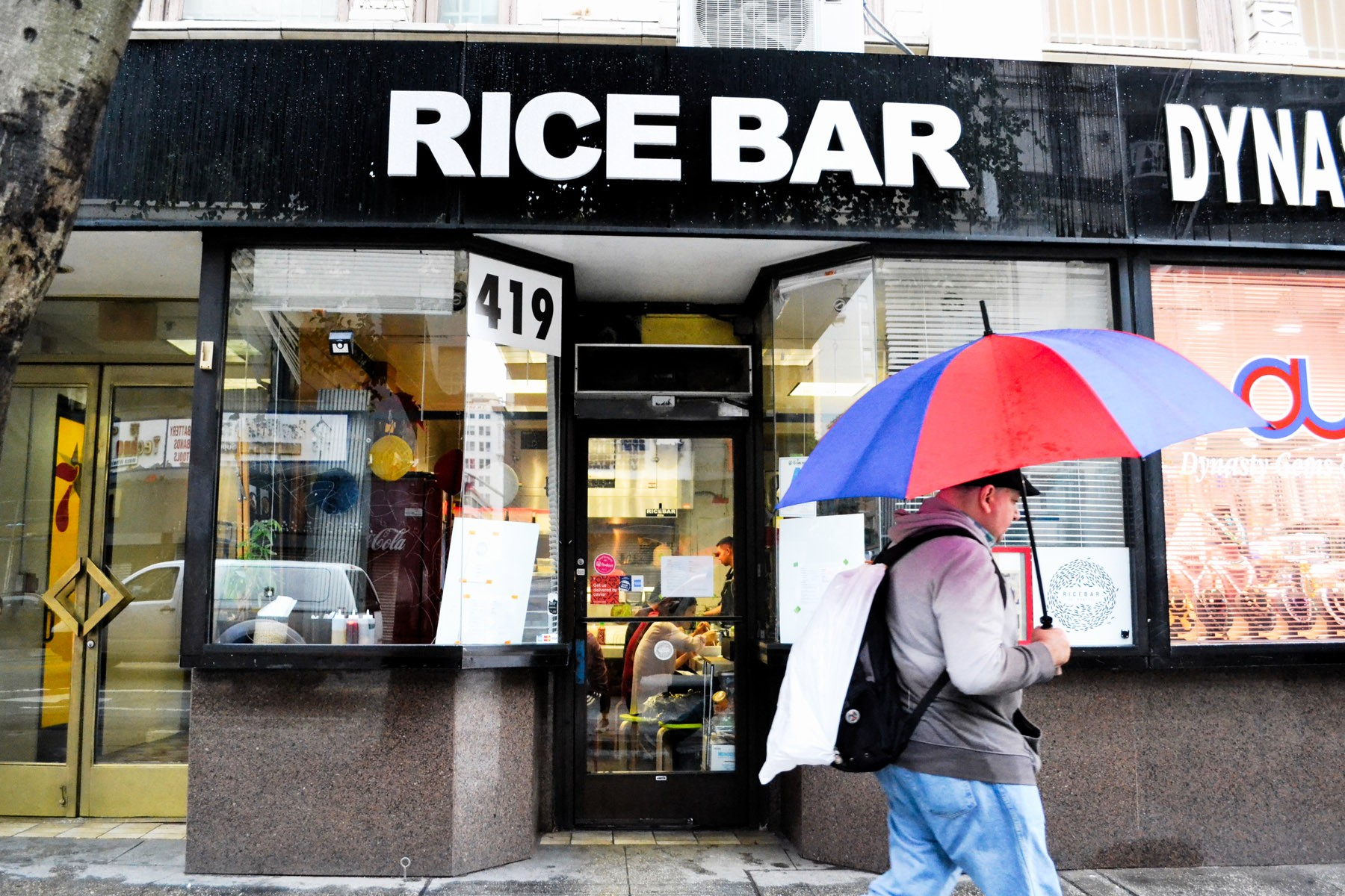Ricebar opened in Downtown Los Angeles opened in mid-2015