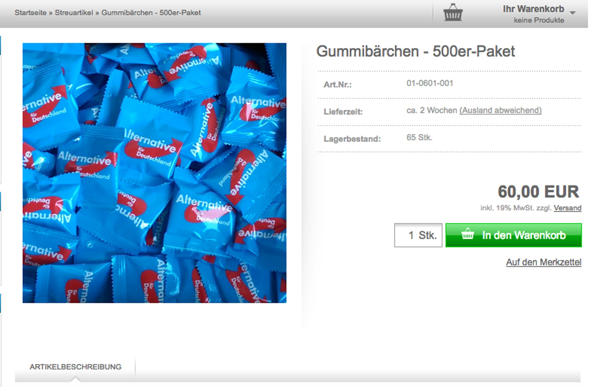 Screen Shot gummy bears AdF germany