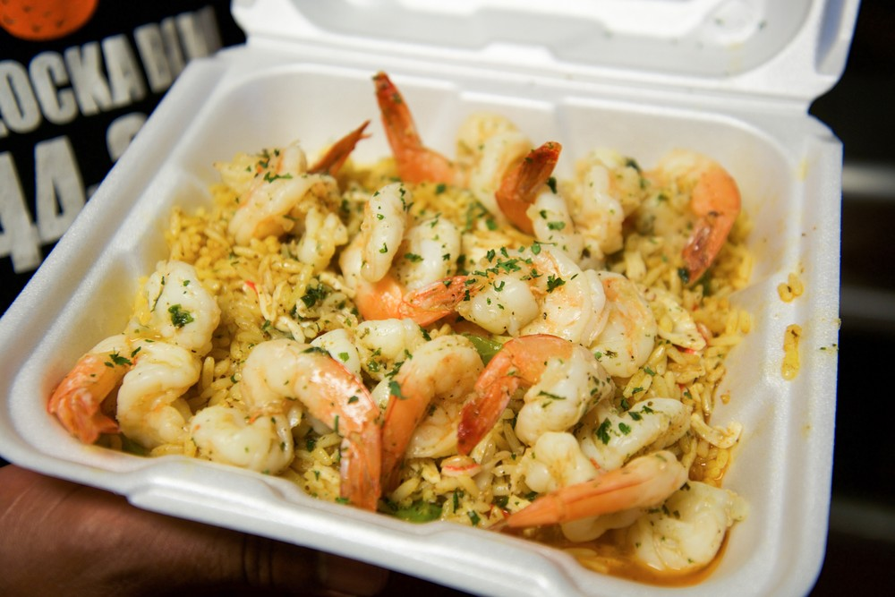 Shrimp and rice crabman305