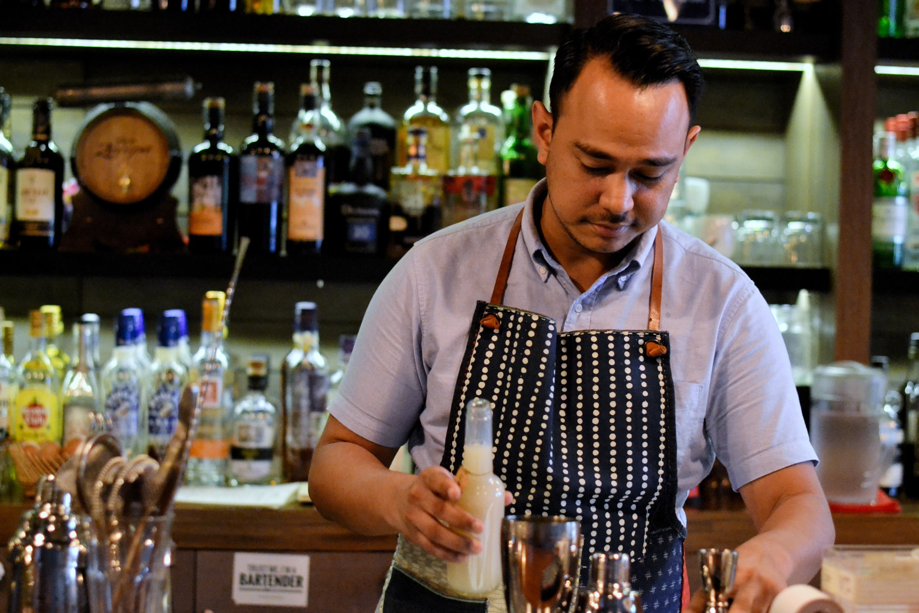 Sugarhall's Stuart Danker has worked in the hospitality industry for nearly a decade.