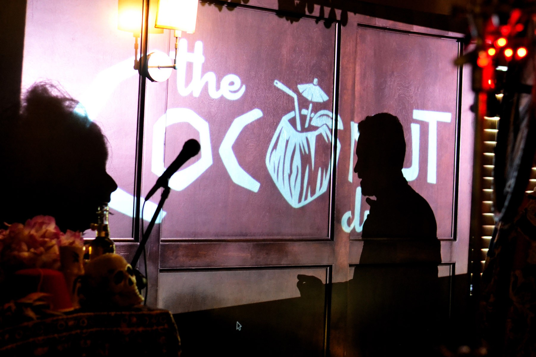 The Coconut Club is as much dinner theater as it is an ode to old Hollywood tiki glamour.