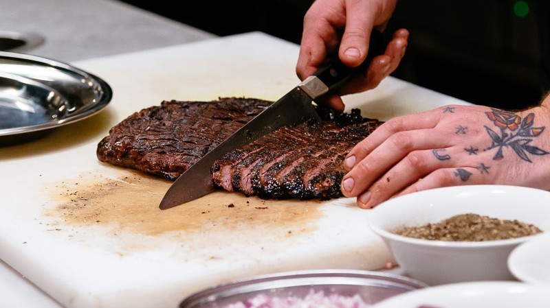 How-To: Make a Beef Flank with Smoked Beef Fat Vinaigrette With Luke Powell