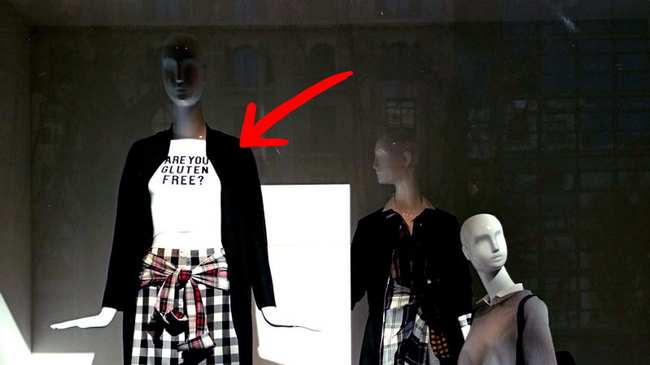 f04b00ff9b Are You Gluten Free?' T-Shirt Causes Controversy for Zara - VICE