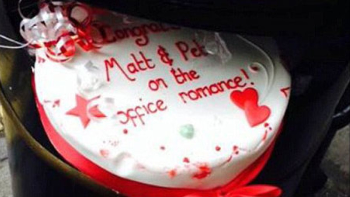 The Internet Wants To Know Who Dumped This Cake In A Bin Munchies