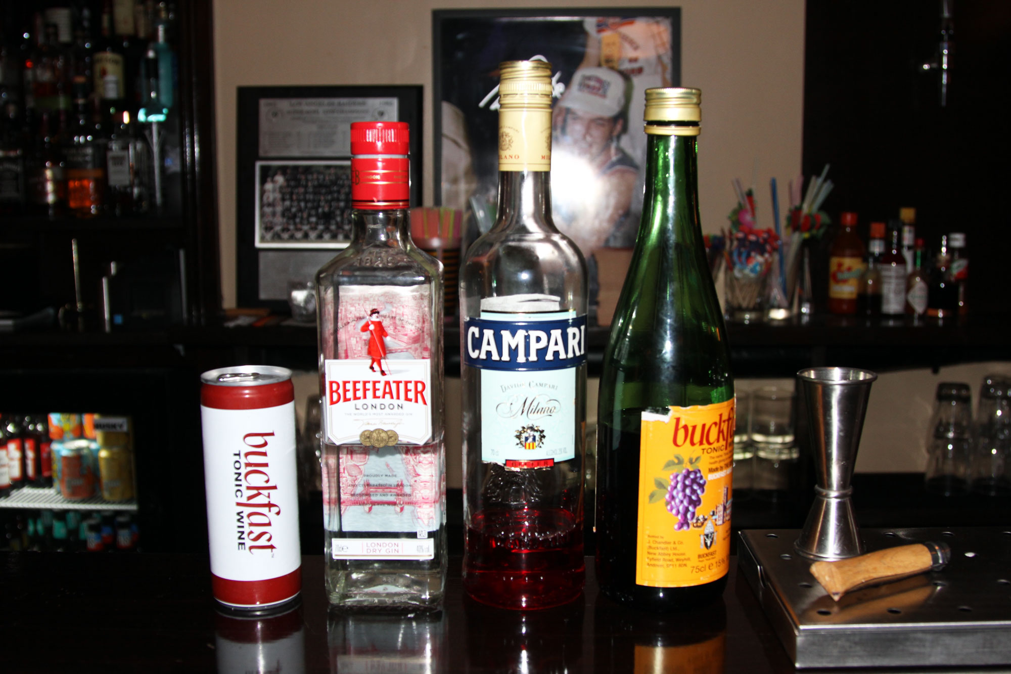 buckfast-negroni-ingredients