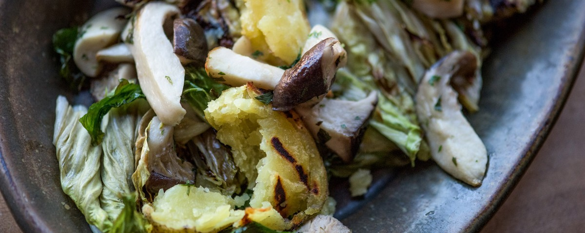 king trumpet mushroom how to cook