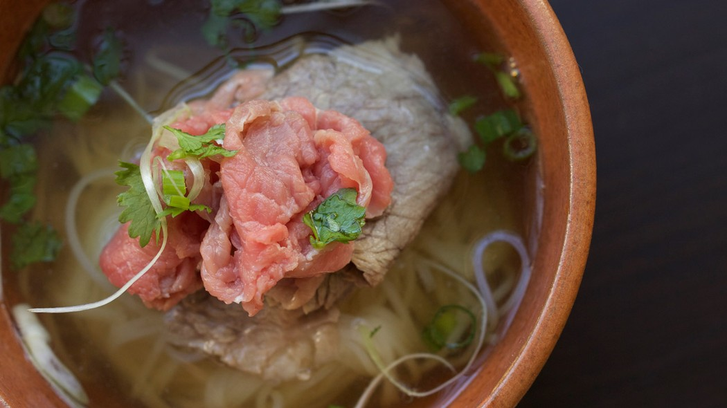 """If you want a rich pho broth, you should just bring your pot out to the butcher shop and say, """"Fill this with bones."""" The more bones you have, the better it ..."""