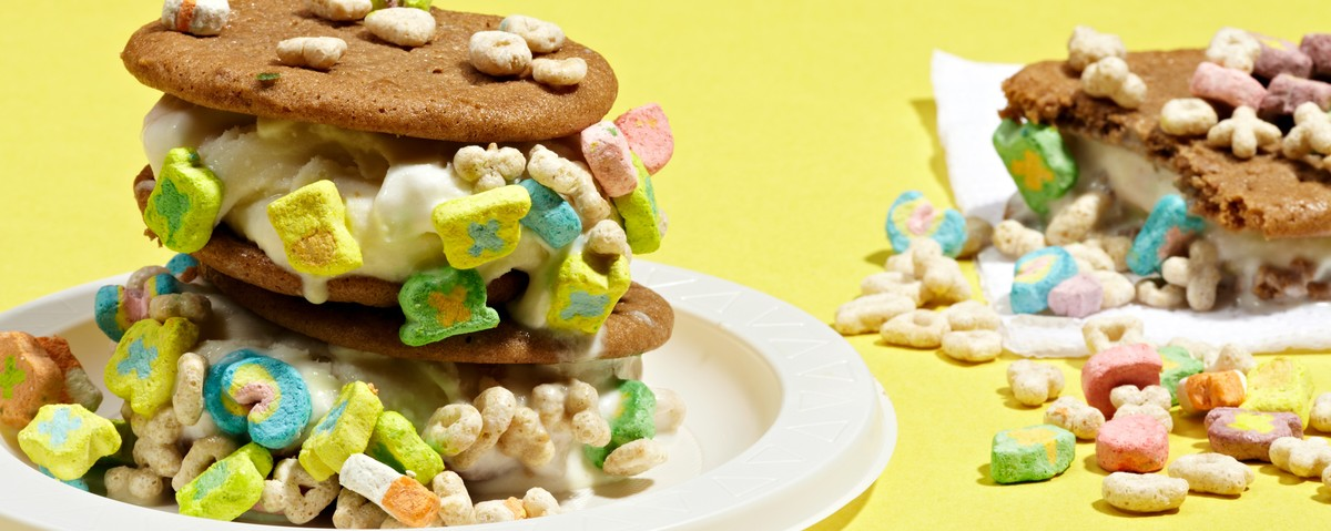 Whiskey Lucky Charms Ice Cream Sandwich Recipe from Coolhaus ...