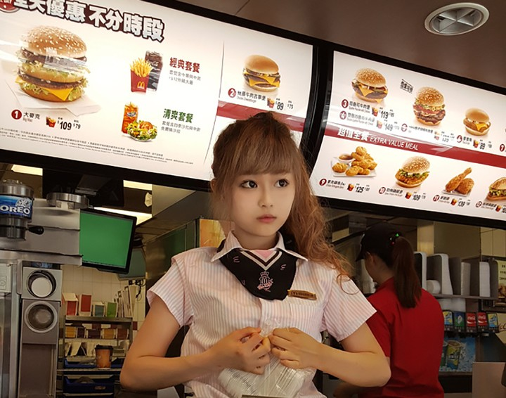 """This """"McDonald's Goddess"""" Is the Latest Icon of Taiwan's Sexual Fast Food Culture"""