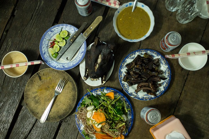 Eating with the Dog Thieves of Cambodia