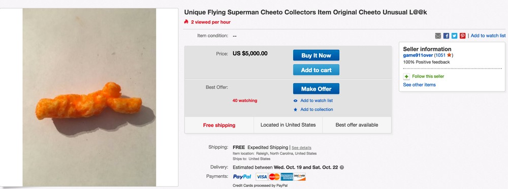 Here Are The Weirdest Food Things You Can Buy On Ebay Right Now