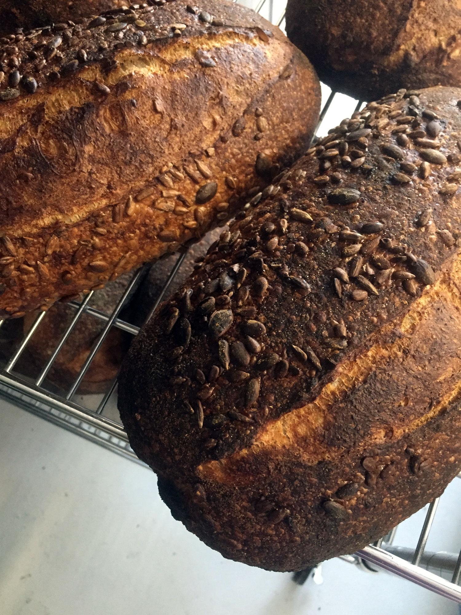 five-seed-sourdough-cooling