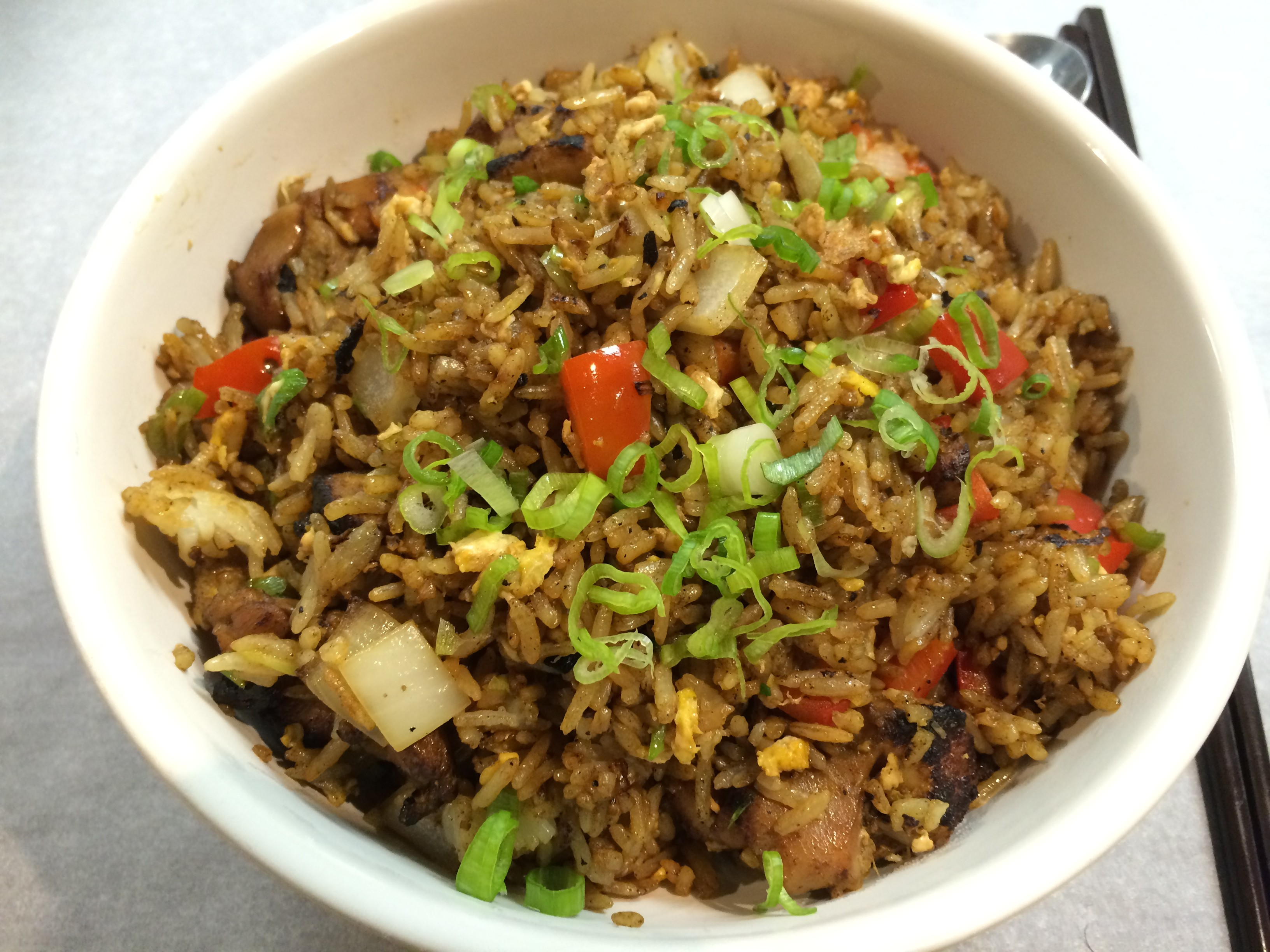 galangal chicken fried rice