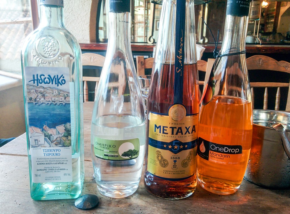 Theres More To Greek Liquor Than Just Ouzo Munchies