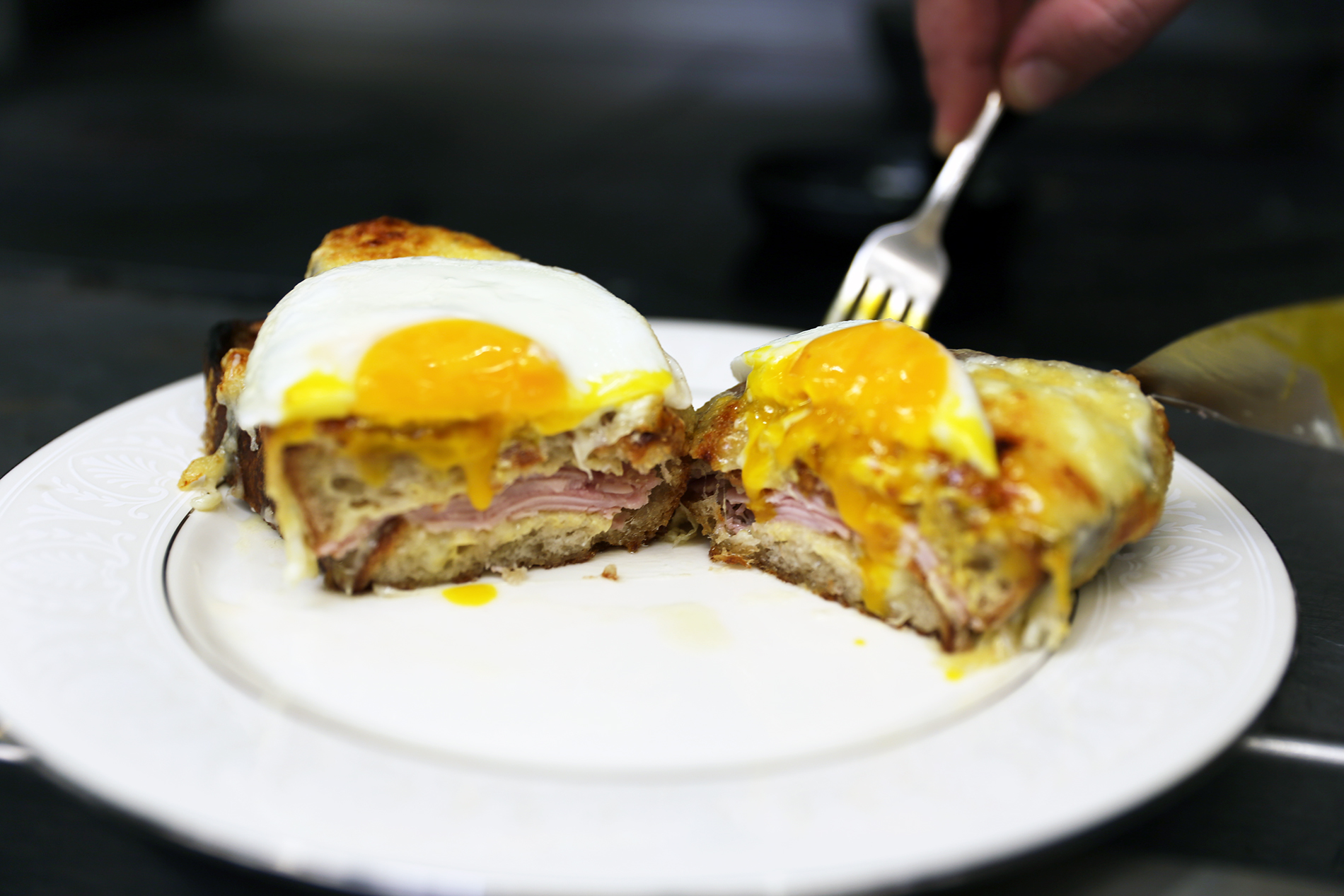 How-To: Make a Croque Madame with Kris Morningstar