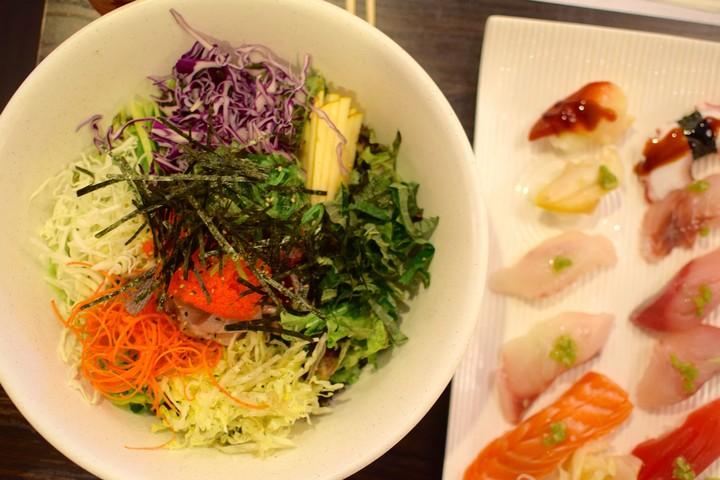 Koreanisches Sushi ist besser als japanisches Sushi