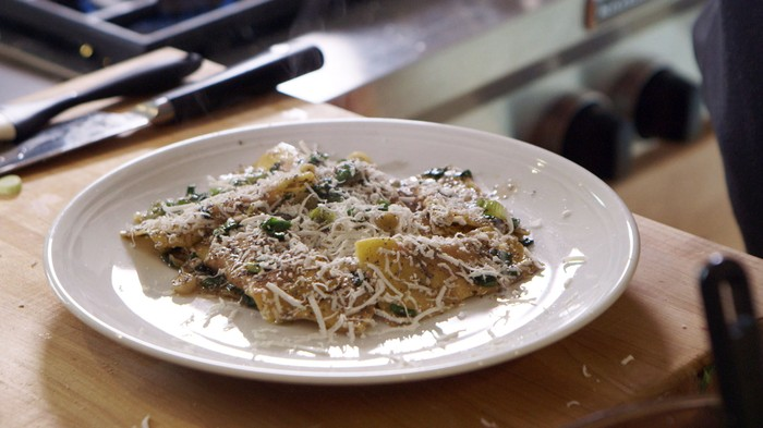 ... Batali's Beet and Ricotta Ravioli with Poppyseed Butter | MUNCHIES