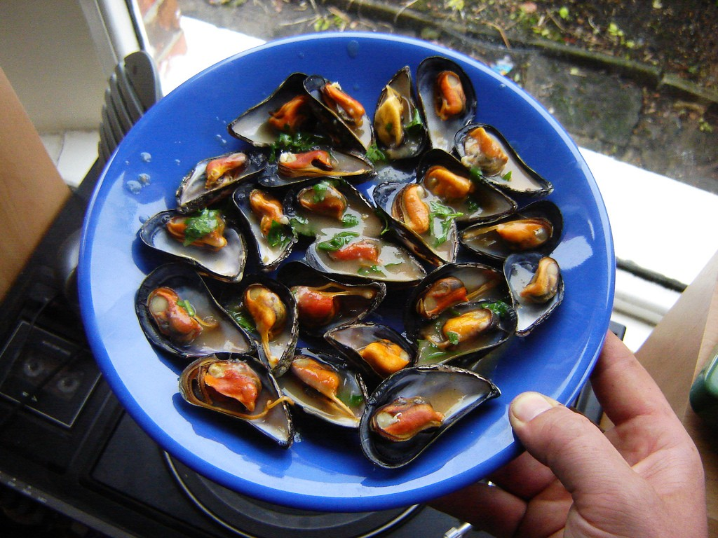 mussels-escabeche