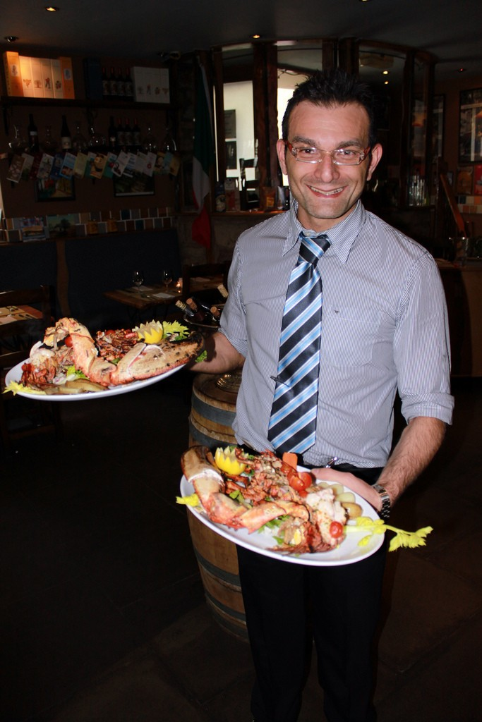 server-with-seafood