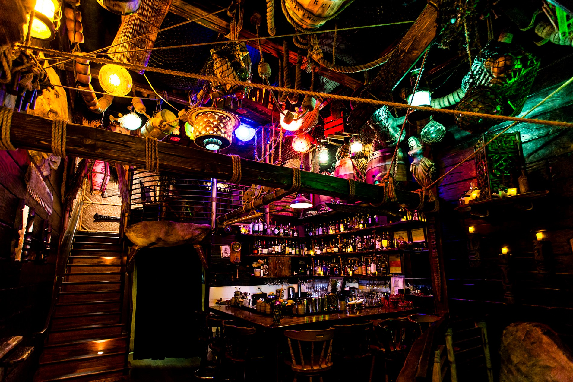 Interior of Smuggler's Cove. Photo by Kelly Puleio