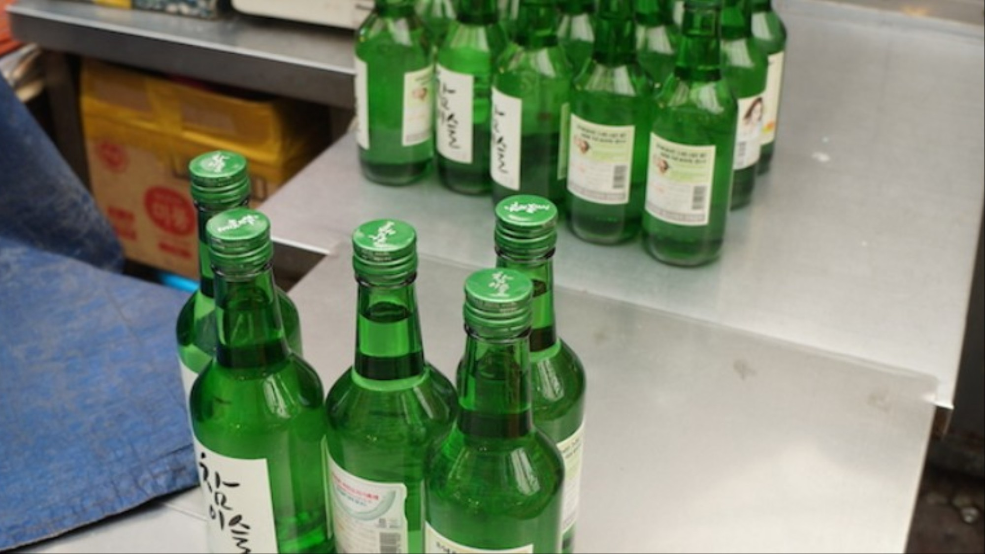 Soju Is Responsible for South Koreans Passing Out in the