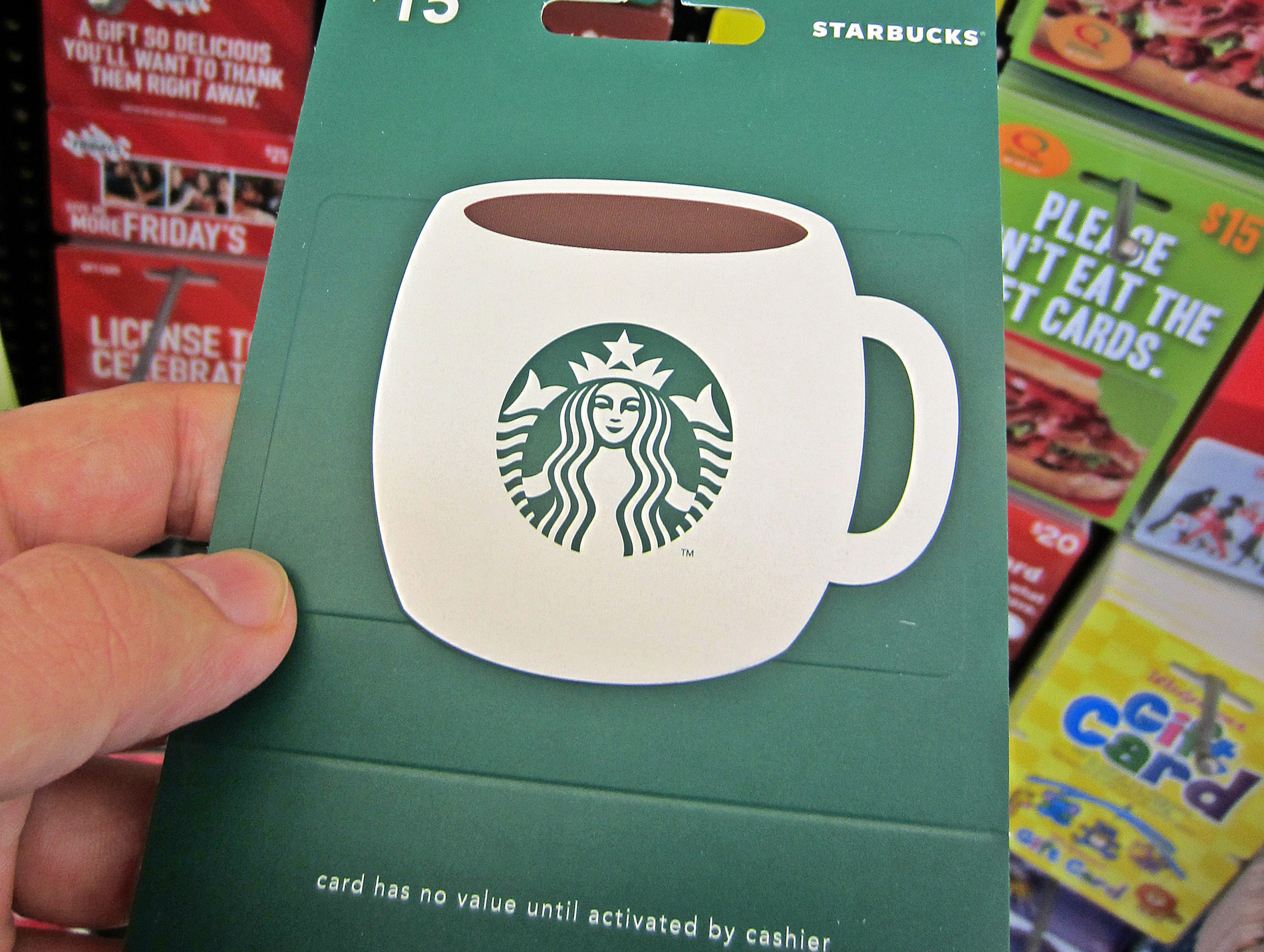 Starbucks Gift Cards Have Enough Money to Create One of the ...