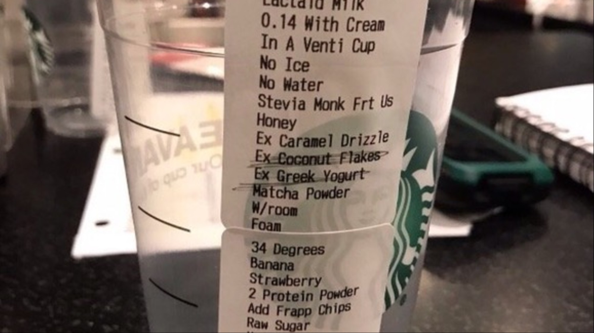 Is This The Most Ridiculous Starbucks Order Of All Time Vice