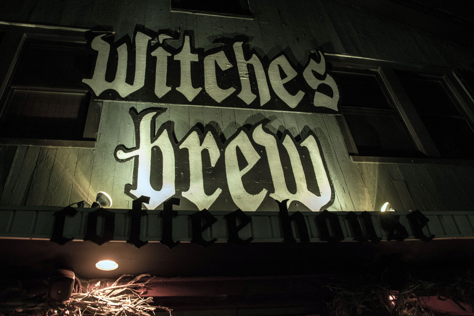 Lining Up For Lattes With The Goth Kids At Witches Brew